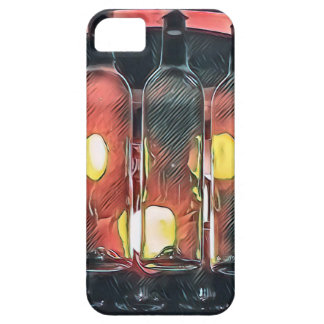 Uncommon Funky Rose Cinnamon Artistic Wine Bottles iPhone 5 Cover
