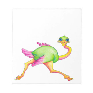 Uncommon Ostrich Notepad