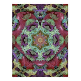 Uncommon Rich Colored Modern Abstract Postcard