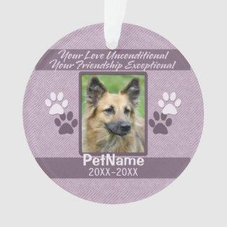 Unconditional Love Pet Sympathy Custom