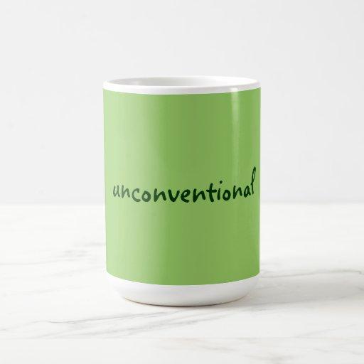 unconventional coffee mug