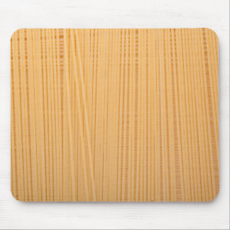 Uncooked spaghetti mouse pad