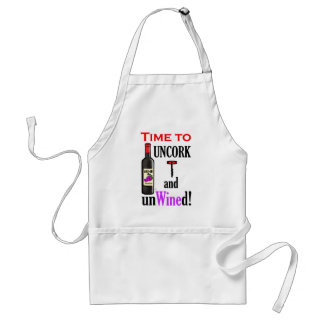 Uncork and Unwined Standard Apron