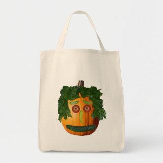 Uncut Pumpkin Face Bag