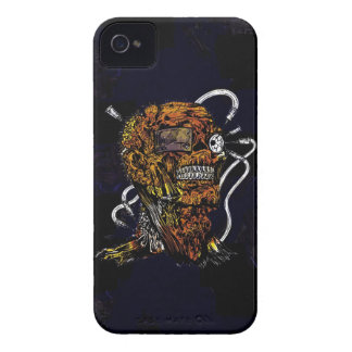 Undead Zombie Mummy Freaky Guy iPhone 4 Case-Mate Cases
