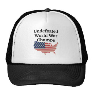 Undefeated World War Champs Trucker Hat