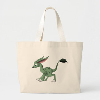 Undefined Creature w. Mustache Tote Bags
