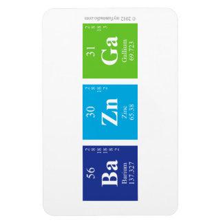 undefined rectangular photo magnet