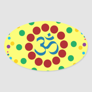 undefined oval sticker