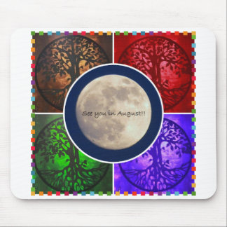 Under August Skies Mouse Pad