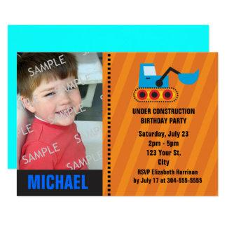 Under Construction Birthday Card