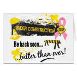 Under Construction Breast Cancer Cards