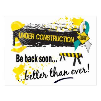 Under Construction Cervical Cancer Post Cards