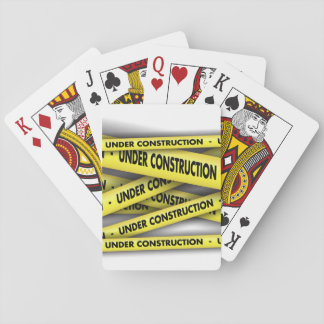 Under Construction Playing Cards