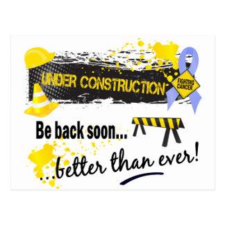 Under Construction Prostate Cancer Postcard