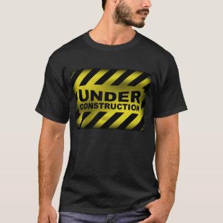 Under Construction Sign T-Shirt