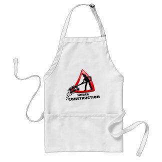 under-construction standard apron