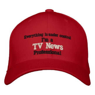 Under Control Embroidered Baseball Cap