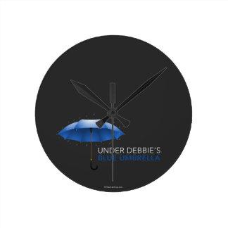 Under Debbie's Blue Umbrella Clocks