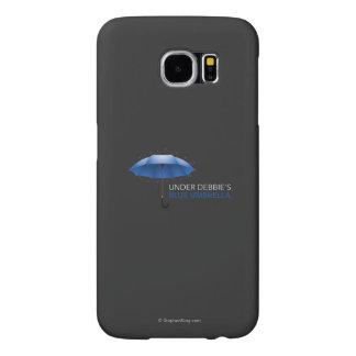 Under Debbie's Blue Umbrella Samsung Galaxy S6 Cases