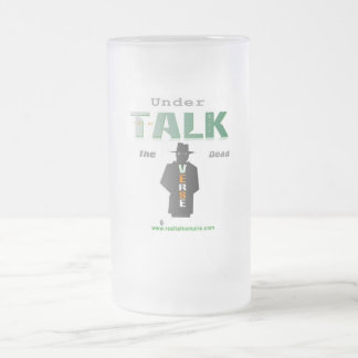 under - glass frosted glass mug