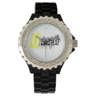 UNDER Logo design Wrist Watch