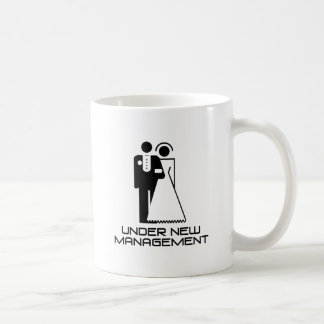 Under New Management Married Coffee Mug
