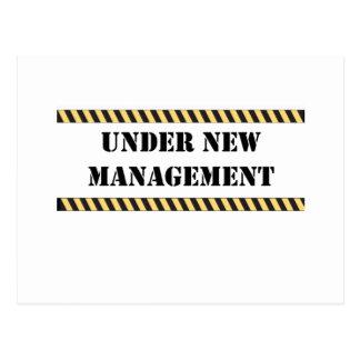 under new management postcards