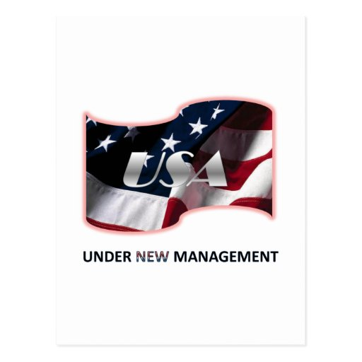 Under New Management Post Cards
