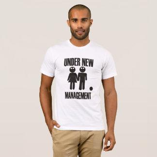 Under New Management Stag Night Wedding T-Shirt