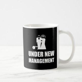 Under New Management Wedding Ball Chain Coffee Mug