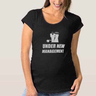 Under New Management Wedding Ball Chain Maternity T-Shirt