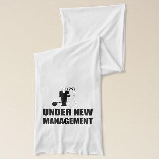 Under New Management Wedding Ball Chain Scarf