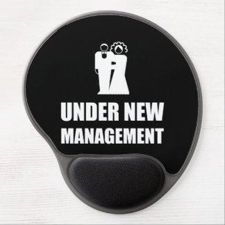 Under New Management Wedding Gel Mouse Pad