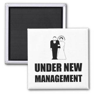 Under New Management Wedding Magnet