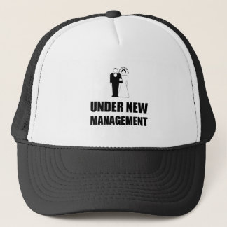 Under New Management Wedding Trucker Hat