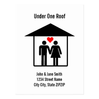 Under One Roof Postcard