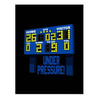 Under Pressure Postcard