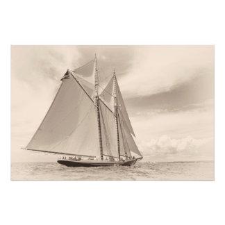 Under Sail On Columbia Photo Print