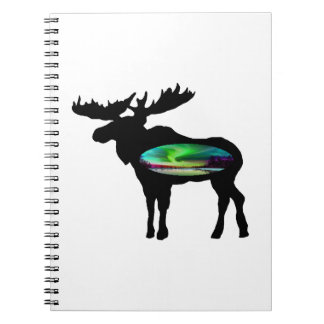 UNDER THE AURORA SPIRAL NOTEBOOK
