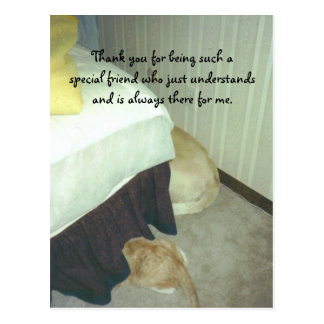 Under the Bed Postcard