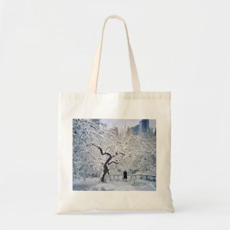 Under The Cover Of Snow Tote Bag