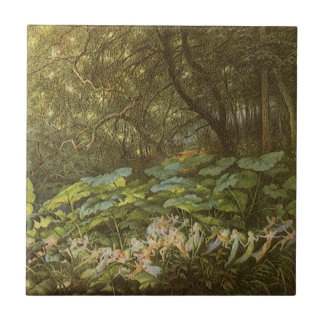Under the Dock Leaves by Doyle, Victorian Fairies Ceramic Tiles