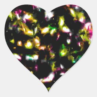 Under the Fireworks.jpg Heart Sticker