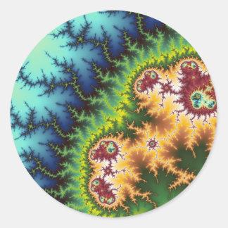 Under The Forest - Fractal Sticker