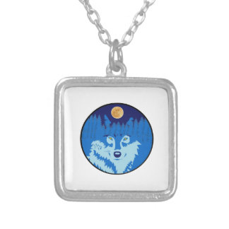 Under the Full Moon Silver Plated Necklace