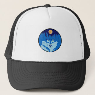 Under the Full Moon Trucker Hat