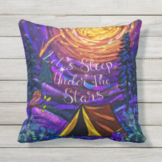 Under The Glorious STARS Outdoor Cushion