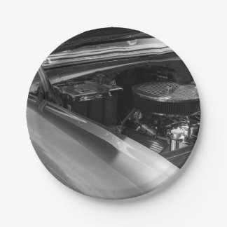 Under The Hood 7 Inch Paper Plate