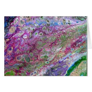 Under The Microscope - Original Art Card